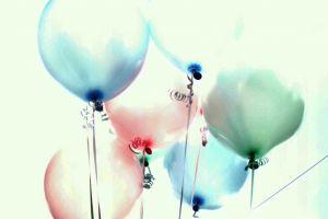 Aufgeblasene-Ballons