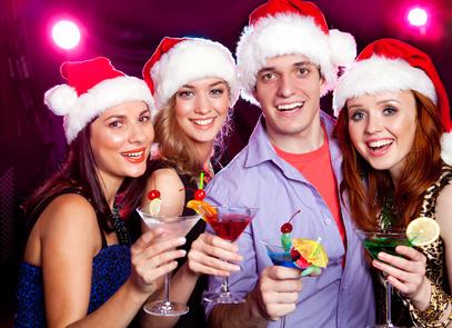 Weihnachtsparty unter Mitarbeitern