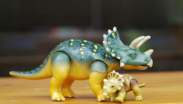 Dino-Dekospielzeug