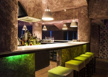 Lounge Partymöbel mit Lichteffekten
