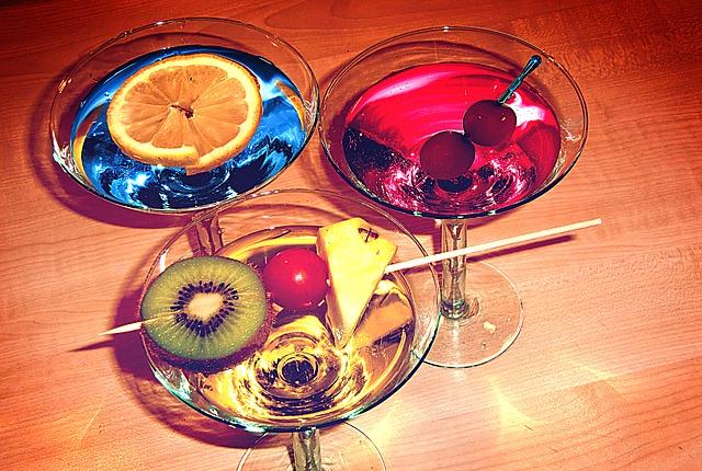 Dekorierte-Cocktails