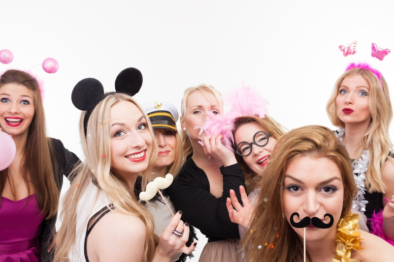 Partyfoto-selfie