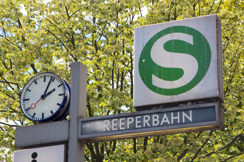 Hamburg Reeperbahn Station
