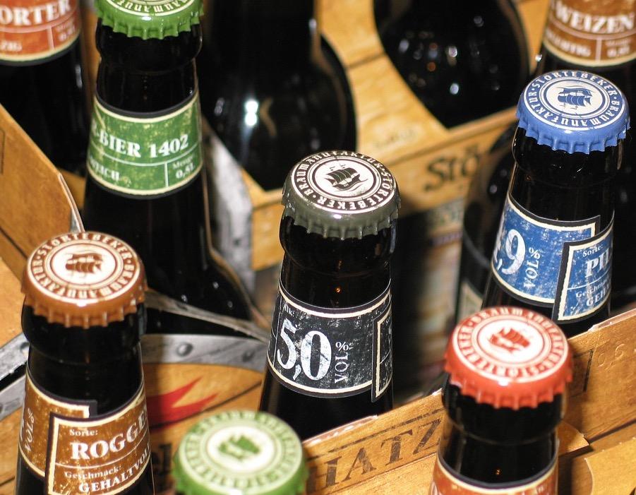 Biersammlung-auf-Junggesellenverabschiedung