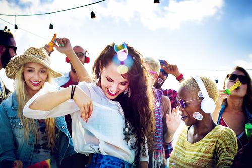 Partygaeste-Strandparty