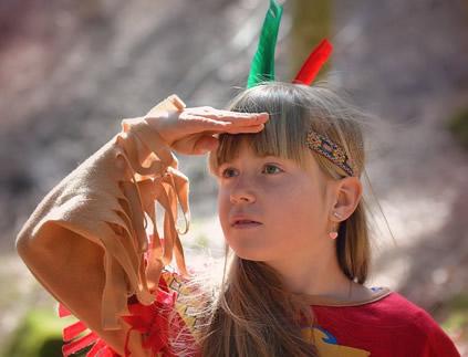 kleine-indianerin